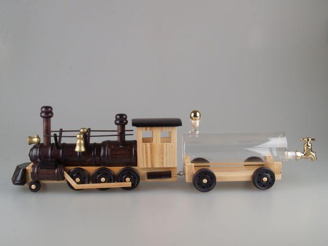 lokomotíva s vagónom