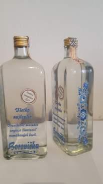Borovička ornament 0,7 l 36 %