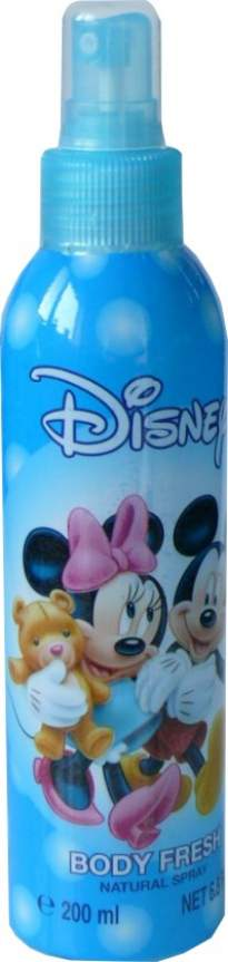 Mickey & Minnie Display Body Fresh 200 ml||