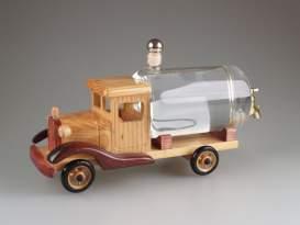 Drevené auto - cisterna