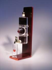 Sada ELLE (1x fľaška 0,35 l + 2x pohárik V 34/80 b.o.)
